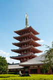 Sensoji寺庙 免版税库存图片