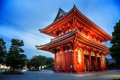 Sensoji寺庙 免版税库存照片