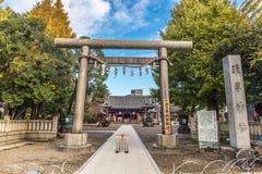 Sensoji寺庙` s寺庙在浅草区 Senso籍 免版税库存照片