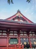 Sensoji 浅草寺 Temple, Tokyo, Japan, Main Hall Stock Photo