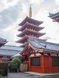 Sensoji 浅草寺 Temple, Tokyo, Japan, Pagoda Stock Image