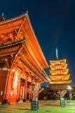 sensoji świątynia Tokyo Obrazy Stock