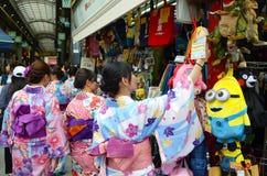 Sensoji świątynny Tokio, Japonia obrazy royalty free