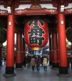 sensoji Τόκιο Δεκεμβρίου 7 πλήθους Στοκ Φωτογραφία