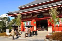 sensoji寺庙 图库摄影