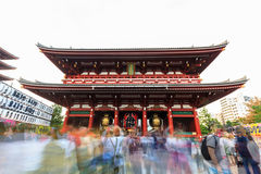 Sensoji, also known as Asakusa Kannon Temple is a Buddhist templ Stock Image