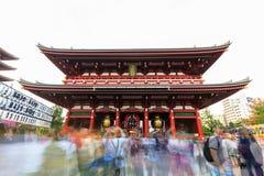 Sensoji, also known as Asakusa Kannon Temple is a Buddhist templ Stock Image
