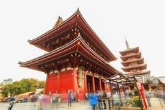 Sensoji, also known as Asakusa Kannon Temple is a Buddhist templ Stock Images