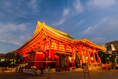Sensoji, also known as Asakusa Kannon Temple . Stock Photos
