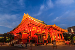 Sensoji, also known as Asakusa Kannon Temple . Stock Image