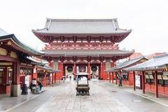 Sensoji Asakusa Kannon a famous ancient Buddhist temple in Tok Stock Photos