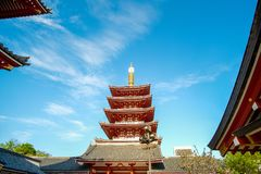 Sensoji or Asakusa Kannon Temple is a Buddhist temple located in Asakusa, landmark and popular for tourist attractions. 7 April 20 stock photography