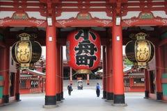 Sensoji or Asakusa Kannon Temple Stock Photo