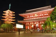 Sensoji Asakusa, Tóquio Japão Imagem de Stock