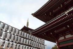 Sensoji Asakusa Temple. Royalty Free Stock Photos