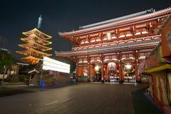 Sensoji Asakusa Temple Stock Photos