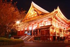 Sensoji Asakusa, Tokio Japonia Zdjęcia Royalty Free