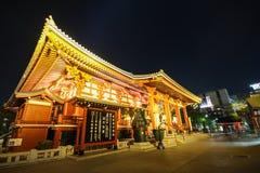Sensoji Asakusa, Tokio Japonia Fotografia Royalty Free