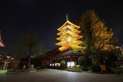 Sensoji Asakusa, Tokyo Giappone, tempio di Sensoji Fotografie Stock