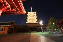 Sensoji Asakusa, Tokyo Japan Royalty Free Stock Photo