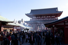 Sensoji (Asakusa) Royalty Free Stock Photography
