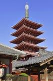 Sensoji Buddhist Temple in Asakusa, Tokyo, Japan Stock Images