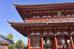 Sensoji Buddhist Temple in Asakusa, Tokyo, Japan Royalty Free Stock Photography