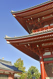 Sensoji Buddhist Temple in Asakusa, Tokyo, Japan Royalty Free Stock Image