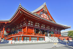 Sensoji Buddhist Temple in Asakusa, Tokyo, Japan Royalty Free Stock Images
