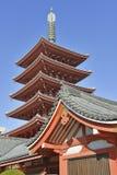 Sensoji Buddhist Temple in Asakusa, Tokyo, Japan Royalty Free Stock Images