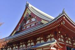 Sensoji Buddhist Temple in Asakusa, Tokyo, Japan Stock Image