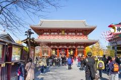 Sensoji buddhist temple tokyo Japan Stock Photos