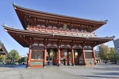 Sensoji buddistisk tempel i Asakusa, Tokyo, Japan Arkivbild