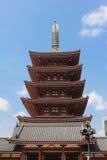 Sensoji Buddyjska świątynia, Tokio, Japonia Obrazy Stock