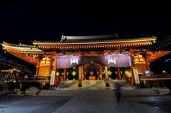 Sensoji at night.Tokyo. Japan. Asia stock photos