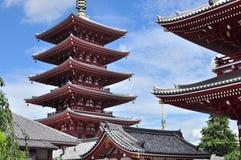 sensoji pagoda asakusa Стоковое фото RF