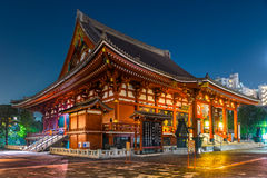 Sensoji -sensoji-ji, Tempel in Asakusa, Tokyo, Japan Royalty-vrije Stock Afbeelding