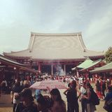 Sensoji Shrine. In Asakusa Royalty Free Stock Photography