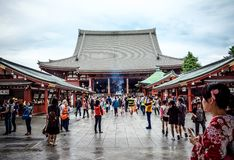 Sensoji shrine in Tokyo Royalty Free Stock Photos