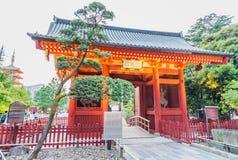 Sensoji Shrine at twilight, Tokyo.  Stock Photo
