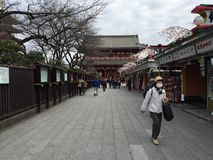 Sensoji, Taito, Ιαπωνία Στοκ φωτογραφία με δικαίωμα ελεύθερης χρήσης