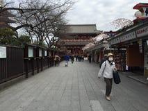 Sensoji, Taito, Giappone Fotografia Stock Libera da Diritti