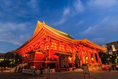 Sensoji, także znać jako Asakusa Kannon świątynia Obraz Stock