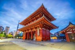 Sensoji-Tempel in Asakusa-Bereich, Tokyo Lizenzfreies Stockfoto