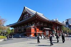 Sensoji-Tempel in Asakusa, Tokyo stockfoto