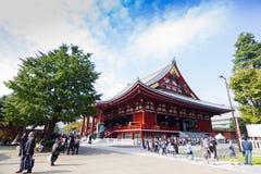 Sensoji-Tempel in Tokyo, Japan Stockbild