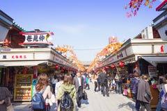Sensoji-Tempel in Tokyo, Japan Stockfotografie
