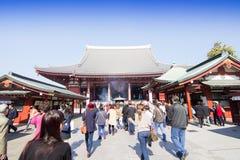 Sensoji-Tempel in Tokyo, Japan Stockfotos
