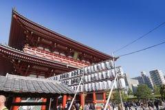 Sensoji-Tempel in Tokyo, Japan Stockfoto