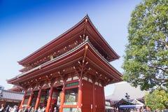 Sensoji-Tempel in Tokyo, Japan Stockbilder